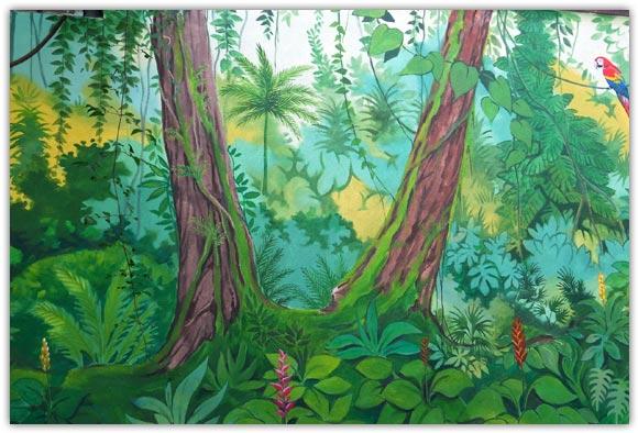 Les peintures murales de marc finiels artiste peintre for Peintures murales